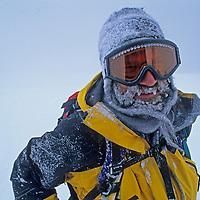 Jon Krakauer in Queen Maud Land, Antarctica.
