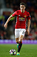 Ander Herrera of Manchester United in action during the English Premier League match at Old Trafford Stadium, Manchester. Picture date: April 4th 2017. Pic credit should read: Simon Bellis/Sportimage