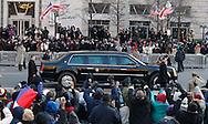 The Inauguration of President Barack Obama in Washington, DC on January 20, 2009. Photograph: Dennis Brack