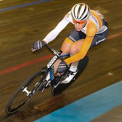 13-12-2015: Wielrennen: NK baanwielrennen: Sloten<br />AMSTERDAM (NED) baanwielrennen   <br />Op het velodrome van Sloten streden de baanwielrenners om de titel op de 50 kilometer. Martijn Tusveld pakte het zilver