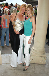 Left to right, Model OLIVIA INGE and her sister ALEXIA INGE at Michele Watches Kaleidoscope Summer Garden Party held at Home House, Portman Square, London on 15th June 2005.<br /><br />NON EXCLUSIVE - WORLD RIGHTS
