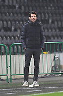 Brian Barry-Murphy Manager of Rochdale during the EFL Sky Bet League 1 match between Hull City and Rochdale at the KCOM Stadium, Kingston upon Hull, England on 2 March 2021.