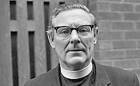 Church of Ireland Archdeacon Samuel Crooks, Dean, St Anne's Cathedral, Belfast, N Ireland, UK, Anglican, 197101000072b..Copyright Image from Victor Patterson, 54 Dorchester Park, Belfast, UK, BT9 6RJ..Tel: +44 28 9066 1296.Mob: +44 7802 353836.Voicemail +44 20 8816 7153.Skype: victorpattersonbelfast.Email: victorpatterson@me.com.Email: victorpatterson@ireland.com (back-up)..IMPORTANT: If you wish to use this image or any other of my images please go to www.victorpatterson.com and click on the Terms & Conditions. Then contact me by email or phone with the reference number(s) of the image(s) concerned.