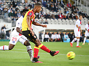 Loic Bade of Lens during the French championship Ligue 1 football match between RC Lens (Racing Club de Lens) and Paris Saint-Germain (PSG) on September 10, 2020 at Stade Felix Bollaert in Lens, France - Photo Juan Soliz / ProSportsImages / DPPI