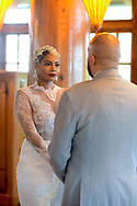 Tonia & Erik's wedding Thursday, February 22, 2018 at Grounds for Sculpture in Trenton, New Jersey. (Photo by William Thomas Cain/Cain Images)