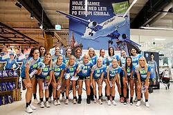 The Players at Press Conference of RK Krim Mercator at start of the season 2018/19, on August 16, 2018 in Mercator Siska, Ljubljana, Slovenia. Photo by Matic Klansek Velej / Sportida