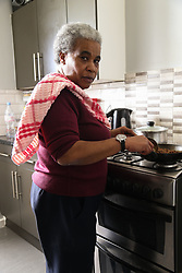 """Windrush generation grandmother Jessica Eugene who arrived in the UK aged 10 in 1970 from Dominica in the Caribbean has lost her job at the charity Newham Community Renewal Programme after being unable to provide  documentation proving her right to work in the United Kingdom. London, April 24 2018."