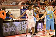 DESCRIZIONE : Pistoia campionato serie A 2013/14 Giorgio Tesi Group Pistoia Vanoli Cremona <br /> GIOCATORE : Kyle Gibson<br /> CATEGORIA : pre game<br /> SQUADRA : Giorgio Tesi Group Pistoia<br /> EVENTO : Campionato serie A 2013/14<br /> GARA : Giorgio Tesi Group Pistoia Vanoli Cremona <br /> DATA : 10/11/2013<br /> SPORT : Pallacanestro <br /> AUTORE : Agenzia Ciamillo-Castoria/GiulioCiamillo<br /> Galleria : Lega Basket A 2013-2014  <br /> Fotonotizia : Pistoia campionato serie A 2013/14 Giorgio Tesi Group Pistoia Vanoli Cremona<br /> Predefinita :