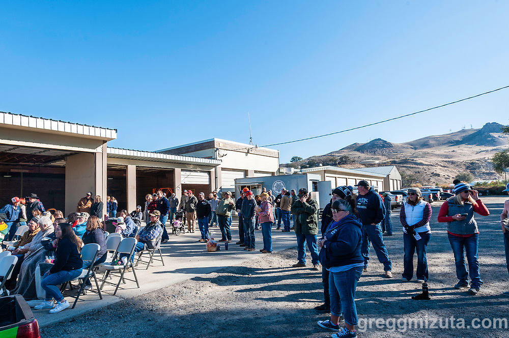 Vale FFA Harvest Auction in Vale, Oregon on October 12, 2019.<br /> <br /> Baker Auction Co. has been the auctioneers for this event since it started 27 years ago.