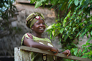 Local people<br /> Mbomo Village<br /> Odzala - Kokoua National Park<br /> Republic of Congo (Congo - Brazzaville)<br /> AFRICA