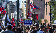 Pro confederate monument clash with  Take Em Down NOLA  supprotest after a  Second Line celebrating the removal of Confederate monuments in the ctiy.