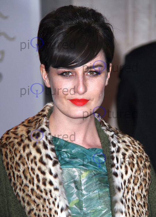 Erin O'Connor British Fashion Awards, The Savoy, Strand, London, UK, 07 December 2010:  Contact: Ian@Piqtured.com +44(0)791 626 2580 (Picture by Richard Goldschmidt)
