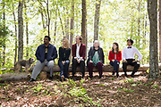 TABLE 19, FROM LEFT, CRAIG ROBINSON, LISA KUDROW, STEPHEN MERCHANT, JUNE SQUIBB, ANNA KENDRICK, TONY REVOLORI, 2017. PH: JACE DOWNS. TM & COPYRIGHT ©FOX SEARCHLIGHT PICTURES. ALL RIGHTS RESERVED