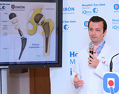 NOV 24 2012 King of Spain Hip Surgery Press Conference