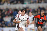 Wycombe. GREAT BRITAIN, Tigers Dayrl GIBSON, during the, Guinness Premiership game between, London Wasps and Leicester Tigers on 25/11/2006, played at  Adams<br />  Park,<br />  ENGLAND. Photo, Peter Spurrier/Intersport-images]