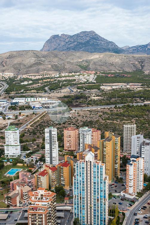 Benidorm y Sierra del Puig Campana. Alicante. España ©Antonio Real Hurtado / PILAR REVILLA