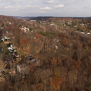 Aerial Panorama Hastings-on-Hudson NY