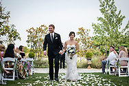 Park Winters rose garden ceremony. Photography by Kristina Cilia Photography of Vacaville, CA