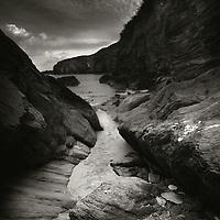 COMMENDED - Landscape photographer of the year<br /> <br /> Mansands slate cliffs, Devon.