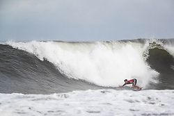 Jack Freestone of Australia advances to round three after placing first in round two heat 1 ​of the 2018 Hawaiian Pro at Haleiwa, Oahu, Hawaii, USA.