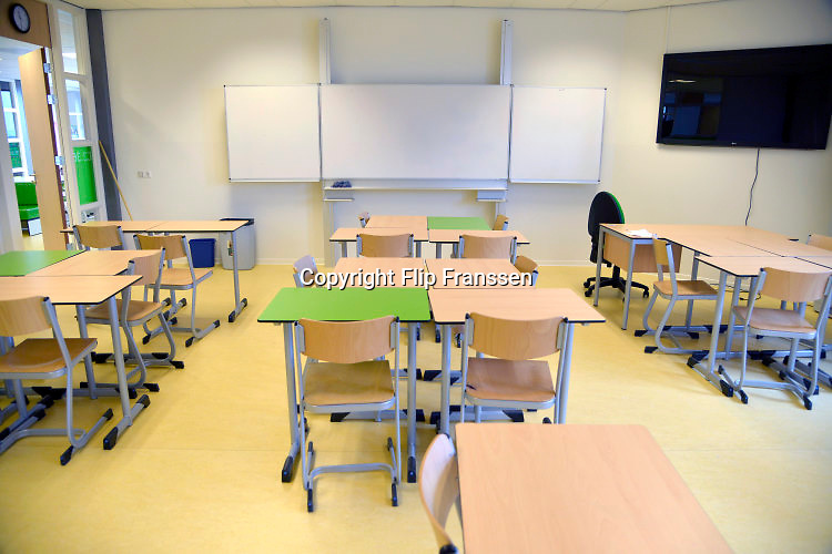 Nederland, Nijmegen, 23-2-2013Een lege klas in een school.Foto: Flip Franssen/Hollandse Hoogte