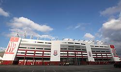 General view of the Britannia Stadium before the game