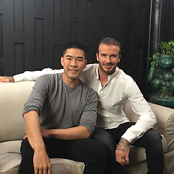 """David Beckham releases a photo on Instagram with the following caption: """"David is live on Facebook! \ud83c\uddf9\ud83c\udded Link in bio."""". Photo Credit: Instagram *** No USA Distribution *** For Editorial Use Only *** Not to be Published in Books or Photo Books ***  Please note: Fees charged by the agency are for the agency's services only, and do not, nor are they intended to, convey to the user any ownership of Copyright or License in the material. The agency does not claim any ownership including but not limited to Copyright or License in the attached material. By publishing this material you expressly agree to indemnify and to hold the agency and its directors, shareholders and employees harmless from any loss, claims, damages, demands, expenses (including legal fees), or any causes of action or allegation against the agency arising out of or connected in any way with publication of the material."""