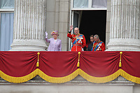 Queen Elizabeth; Prince Philip; Prince William; Prince Charles Queen's Birthday Parade Trooping The Colour, London, UK, 12 June 2010. For piQtured Sales contact: Ian@piqtured.com Tel: +44(0)791 626 2580 (Picture by Richard Goldschmidt/Piqtured)