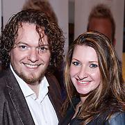 NLD/Amsterdam\/20131025 - CD presentatie Jeffrey Schenk, Jason Bouman en partner Samantha