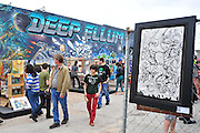 ACTION at the Deep Ellum Arts Festival in Dallas on Sunday, April 7, 2013. (Cooper Neill/The Dallas Morning News)