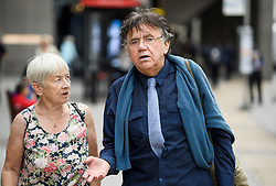 © Licensed to London News Pictures. 04/09/2018. London, UK. Leftwing activist PETER WILLSMAN arrives at Labour Party headquarters in London to attend a National Executive Committee meeting. The Labour Party's ruling body is expected to vote on whether to adopt, in full, the IHRA (International Holocaust Remembrance Alliance) definition of anti-Semitism. Photo credit: Ben Cawthra/LNP