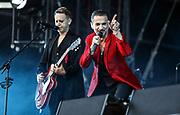 Depeche Mode im Letzigrund, 2017. Photo Siggi Bucher