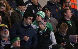 Yeovil fans - Photo mandatory by-line: Matt Bunn/JMP - Tel: Mobile: 07966 386802 22/11/2013 - SPORT - Football - Doncaster - Keepmoat Stadium - Doncaster Rovers v Yeovil Town - Sky Bet Championship