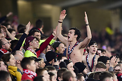 March 15, 2019 - Lille, France, FRANCE - Supporters du LOSC - ambiance (Credit Image: © Panoramic via ZUMA Press)