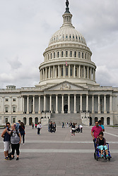 The US Congress building in Washington DC in the United States. From a series of travel photos in the United States. Photo date: Friday, March 30, 2018. Photo credit should read: Richard Gray/EMPICS