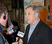 Be Covered Affordable Care sign-up drive event. March 29th 2014. Held in the Broadwaay Armory in Chicago's Edgewater neighborhood.<br /> Attended by Illinois Govenor Pat Quinn and US Senator Dick Durbin.