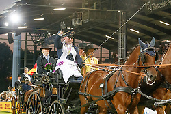 Brauchle Michael, (GER), Carola 83, Clinton, Eldiva, Jamaika<br /> Marathon Driving Competition<br /> FEI European Championships - Aachen 2015<br /> © Hippo Foto - Dirk Caremans<br /> 22/08/15