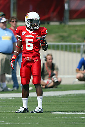 15 September 2012:  Tevin Allen during an NCAA football game between the Eastern Illinois Panthers and the Illinois State Redbirds at Hancock Stadium in Normal IL