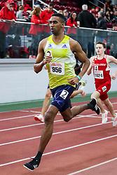Ellison, BAA, 800<br /> BU Terrier Indoor track meet