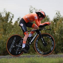 26-09-2020: wielrennen: WK weg vrouwen: Imola<br />Anna van der Breggen takes her first World time trail title