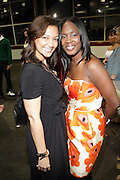 """l to r: Jasmine Franjul and Phylicia Fant at  """" The Ultimate Prom"""" presented by Universal Motown and Mypromstyle.com held at Pier 60 at Chelsea Piers in New York City."""