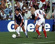 FIFA World Cup - Italia 1990.Julio Olarticoechea - Argentina.©Juha Tamminen