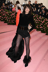 Charlotte Gainsbourg attends The 2019 Met Gala Celebrating Camp: Notes on Fashion at Metropolitan Museum of Art on May 06, 2019 in New York City.<br /> Photo by ABACAPRESS.COM