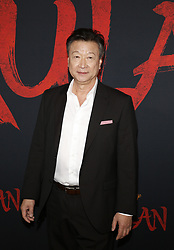Tzi Ma at the World premiere of Disney's 'Mulan' held at the Dolby Theatre in Hollywood, USA on March 9, 2020.
