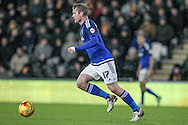 Aron Gunnarsson (Cardiff City) during the Sky Bet Championship match between Hull City and Cardiff City at the KC Stadium, Kingston upon Hull, England on 13 January 2016. Photo by Mark P Doherty.