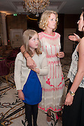 FRANKIE NICOLSON; CLEMMIE MACMILLAN-SCOTT; NELL CAMPBELL, Juliet Nicolson - book launch party for  her latest novel Abdication, about British society after the death of George V.  The Gallery at The Westbury, 37 Conduit Street, Mayfair, London, 12 June 2012