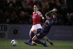 Arsenal Women's Vivianne Miedema (left) scores the opening goal