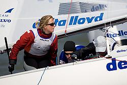 08_002665 © Sander van der Borch. Medemblik - The Netherlands,  May 24th 2008 . Day 4 of the Delta Lloyd Regatta 2008.