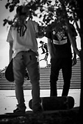 Lifestyle skateboarding shoot