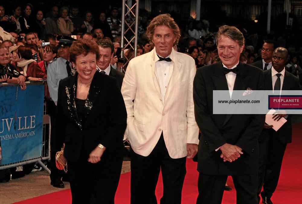 Philippe Augier - Roselyne Bachelot - Dominique Desseigne - 33 ème Festival du Cinéma Américain de Deauville - Soirée d'ouverture - 31/8/2007 - JSB / PixPlanete